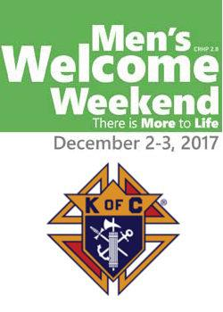 Men's Welcome Weekend and Knights of Columbus Information Night