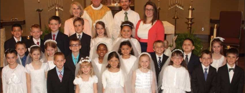 First Communion 2015